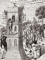 Bricklayer in the 15th century
