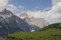 In the Karwendel Mountains