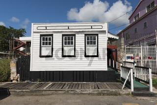 Historisches Gebäude auf Antigua