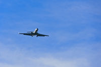 Business Jet im Flug /  Business jet in the air