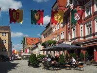 Isny im Allgäu; city in the western, Württembergish part of Allgäu
