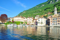 Village of Lenno at Lake Como near Tremezzo,Lombardy,italien Lakes,Italy