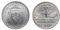 Papal Vacant see 1978 silver coin uncircoled