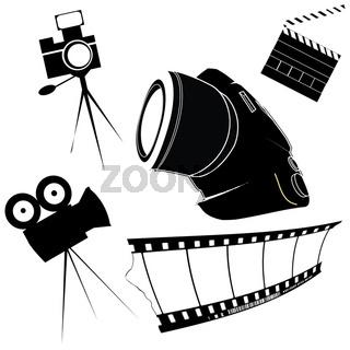 Stylized photo icons