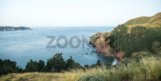 pacific ocean cliffs near golden gate bridge