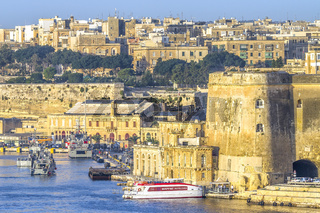 Siege Defences At Valletta, Malta