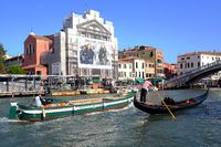 The action at Canal Grande