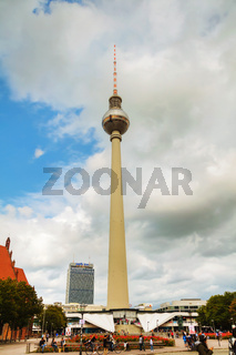 Fernsehturm (Television Tower) in Berlin