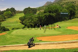 18-Loch Golfplatz, Royal Swazi Spa Valley Resort
