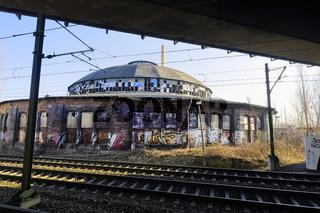 Rundlokschuppen Pankow-Heinersdorf, Berlin, Deutschland