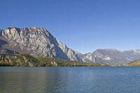 Lago Cavedine in Trentino