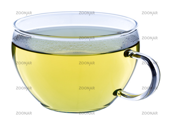 Tasse grüner Tee, japanischer Sencha