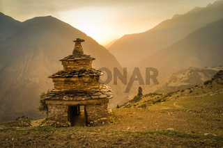 Sunrise in Dolpo