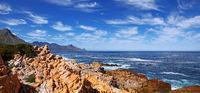 the coastline near Cape Town, South Africa