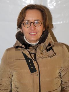 Beatrix von Storch (AfD Bundesvorstand) bei einer AfD-Demonstration am 09.11.2016 auf dem Domplatz in Magdeburg