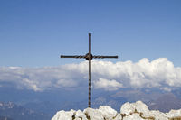 summit in the Gardasee mountains