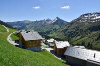 alpine village; alps; Austria; Europe;