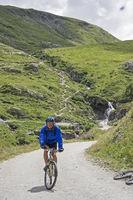 Mountain biking in the Gran Paradiso area