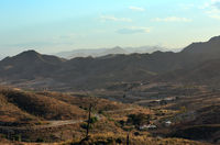 Evening hills in Mazarron outskirts (Murcia, Spain).