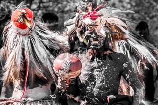 Indigenous Guarani ceremomy Paraguay