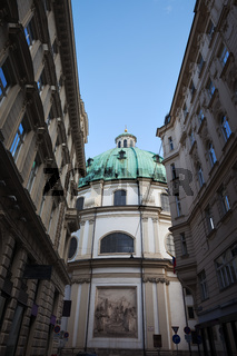Peterskirche - St. Peter's Church in Vienna
