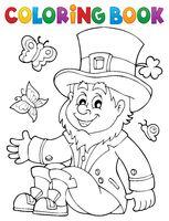 Coloring book leprechaun 3