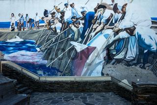 Wandmalereien in Sardinien