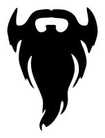 black full beard