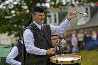 Trommler der City of St Andrews Pipe Band