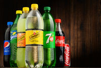 Global soft drink market is dominated by brands of few multinational companies founded in America