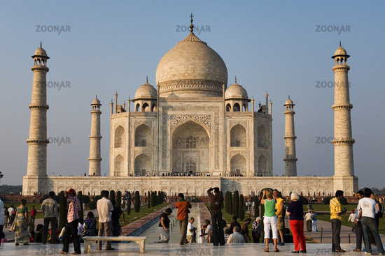 Taj Mahal, Agra, North India, India, Asia