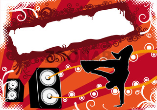 Breakdancer Flyer