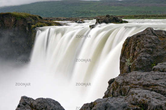 Godafoss, waterfall, Iceland