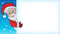 Lurking Santa Claus with copyspace 4