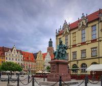 Breslau Aleksander-Fredro-Denkmal - Wroclaw, the Aleksander-Fredro-Monument
