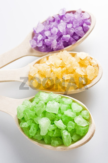 Aromatic bath salt