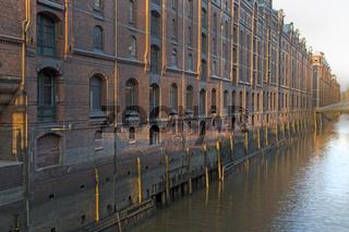 Speicherstadt, HafenCity, Hamburg, Deutschland