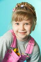 Portrait of a preschooler