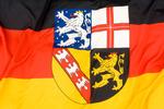 Landesflagge Saarland