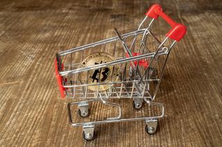Bitcoin In The Shopping Cart