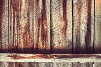 Grunge Wood Panels For Background Purposes