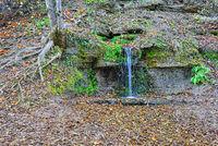 Sacred Slovenian twelve springs in Izborsk,