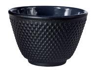 Teetasse aus schwarzem Gusseisen