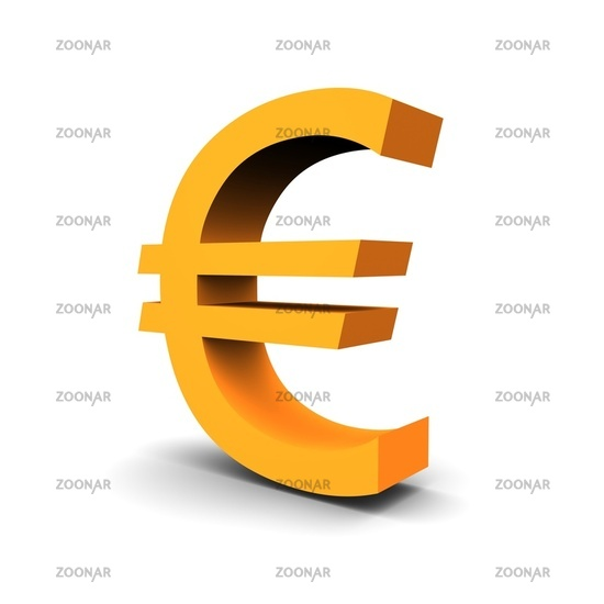 Photo Euro Currency Symbol 3d Rendered Image Image 1635618