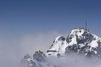 Wendelstein summit in winter