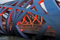 Hans-Wilsdorf-bridge, Geneva, Switzerland