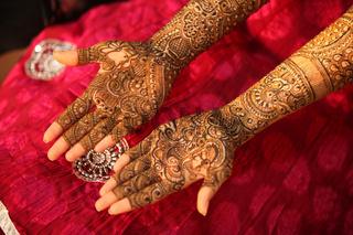 Indian Bride Hands