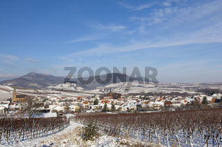 Winter in der Südpfalz