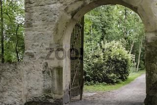 Altes Steintor, Burg Vischering, Lüdinghausen, Münsterland, NRW