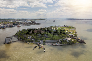 Governors Island Aerial